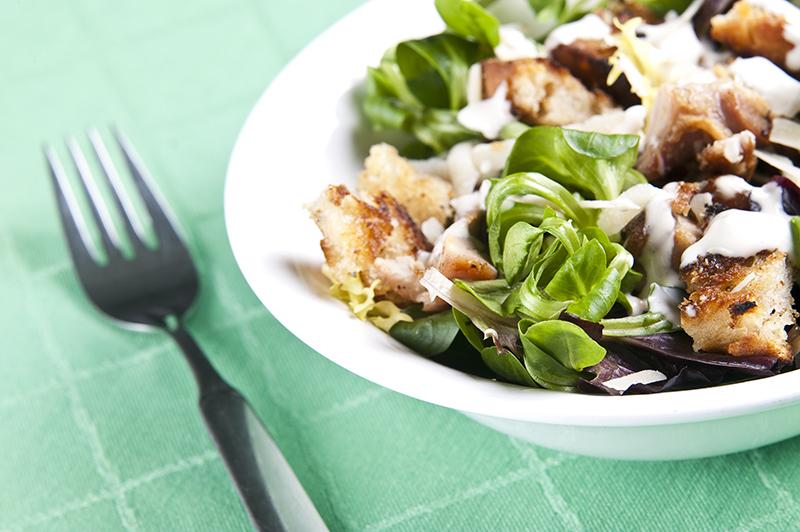 Empty the Fridge - Caesar Salade