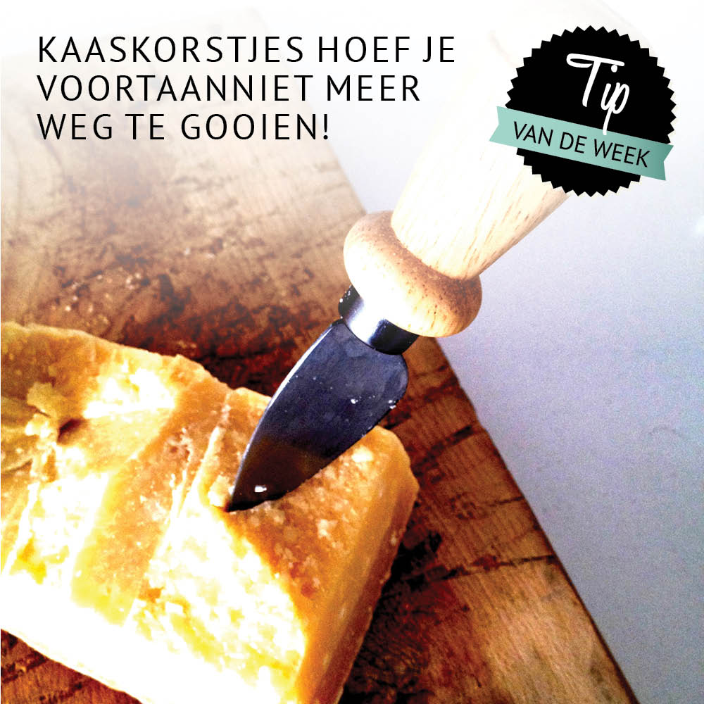 Empty the fridge - Kaaskorstjes bewaren