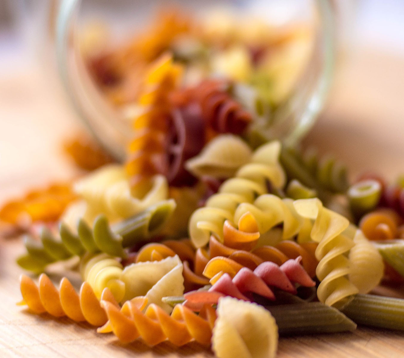 Empty the Fridge - Restjes gedroogde pasta