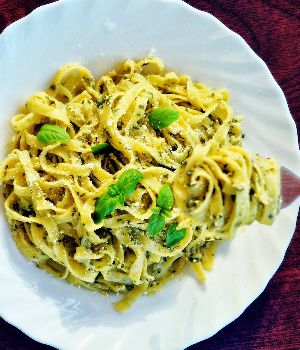 Empty the Fridge - Pasta Genovese
