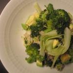 Empty the Fridge - Slaatje met brocolli