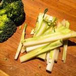 Empty the Fridge - Wat te doen met de broccolistronk