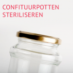Empty the fridge - Confituurpotten steriliseren