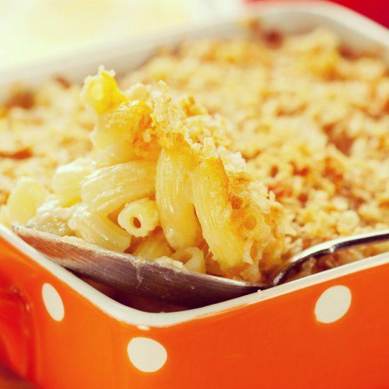Empty the Fridge - Mac and cheese