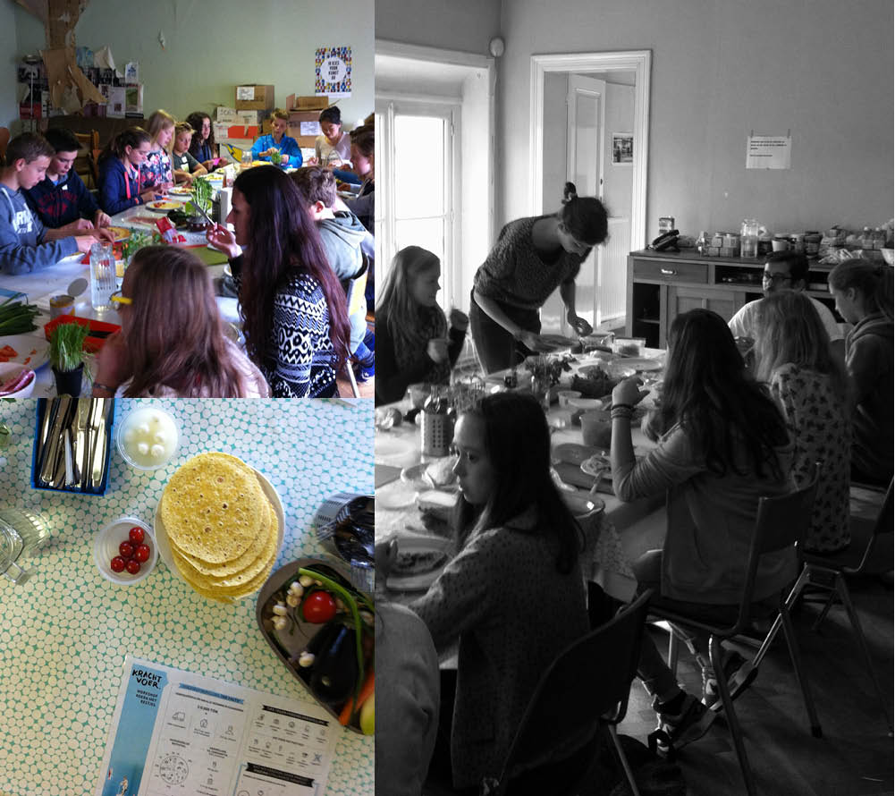 Empty the Fridge - Krachvoer workshop - Koken met restjes