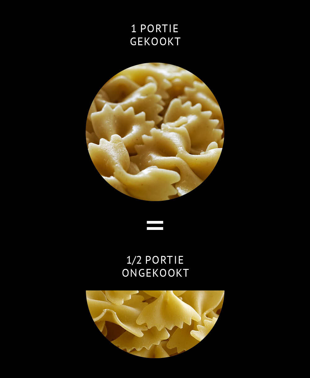 Empty the Fridge - Pasta gekookt vs ongekookt