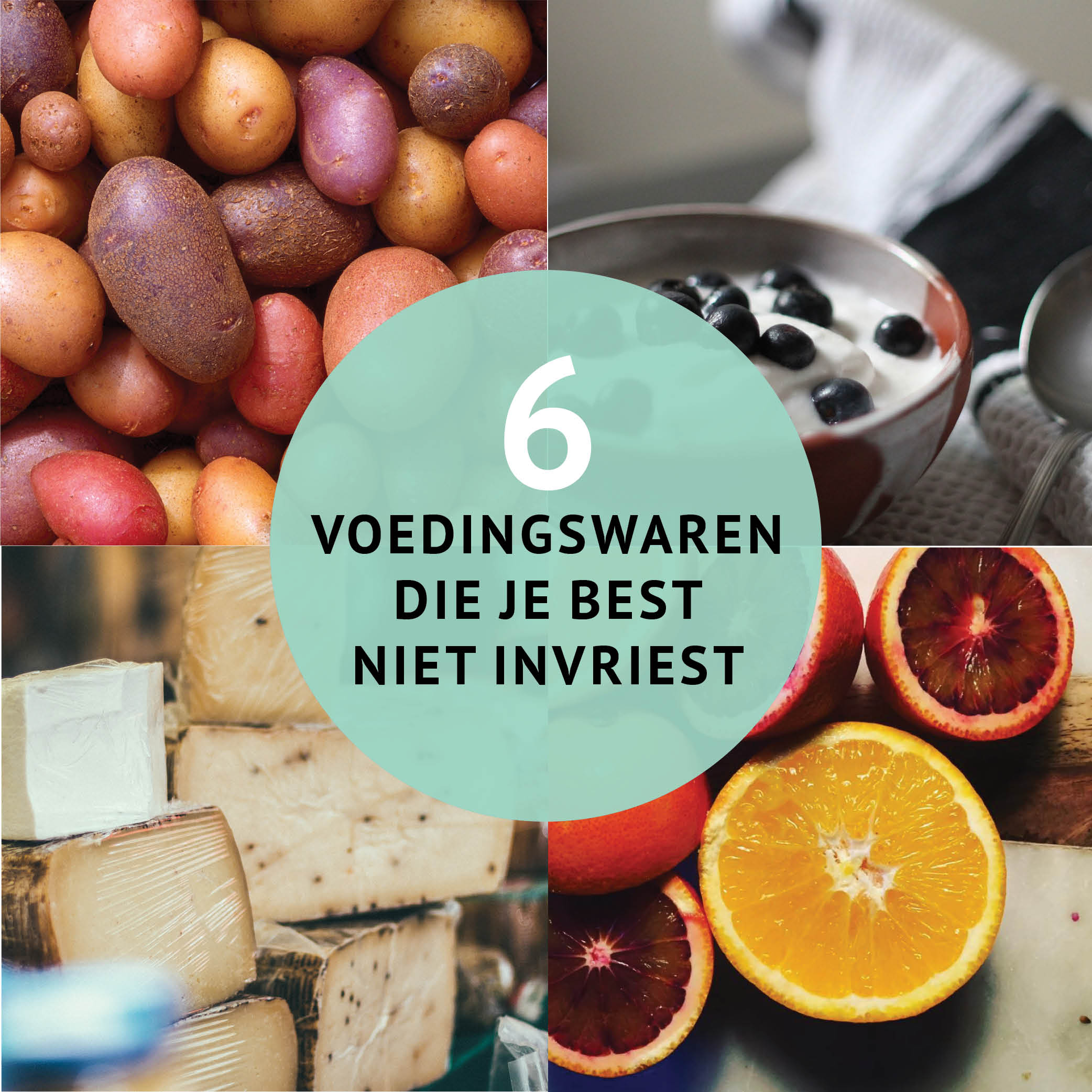 Empty the Fridge - 6 voedingswaren die je best niet invriest