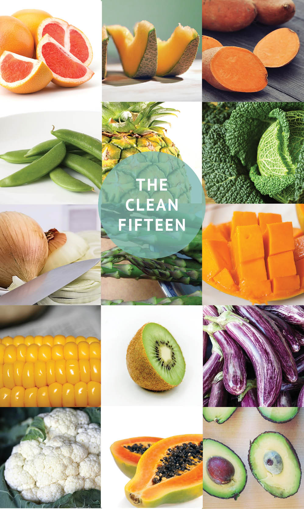 Empty the Fridge - The clean fifteen
