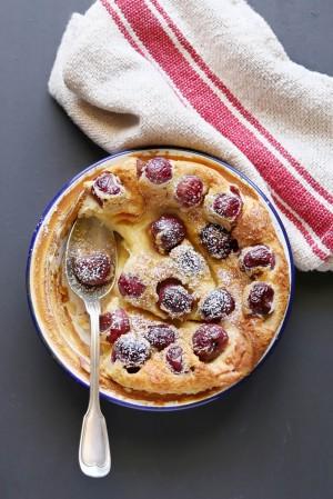 Empty the Fridge - Clafoutis met druiven