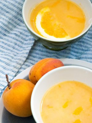 -Soepje van abrikoos