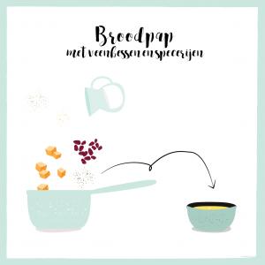 Empty the Fridge - Broodpap met veenbessen en specerijen