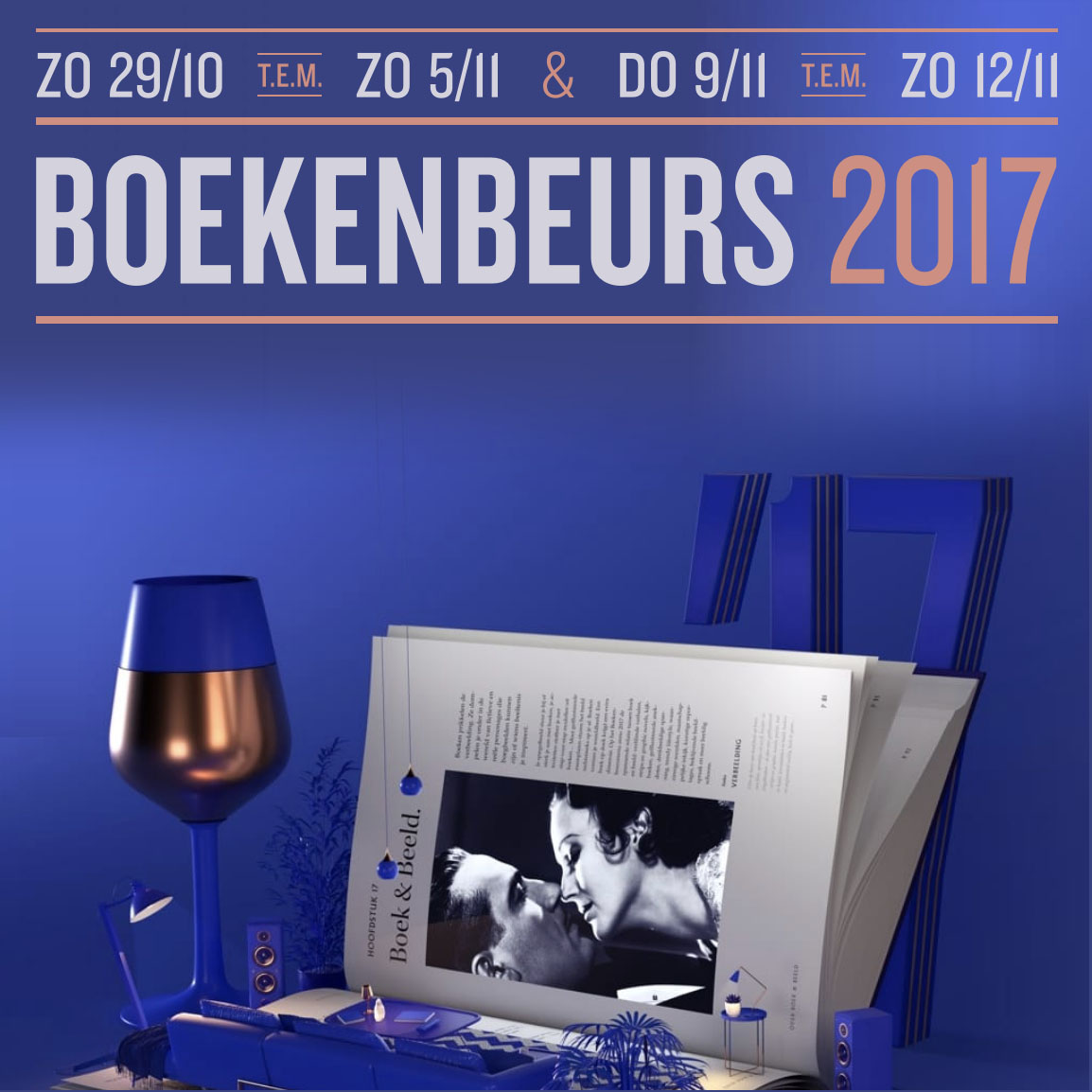 Empty the fridge - Boekenbeurs 2017