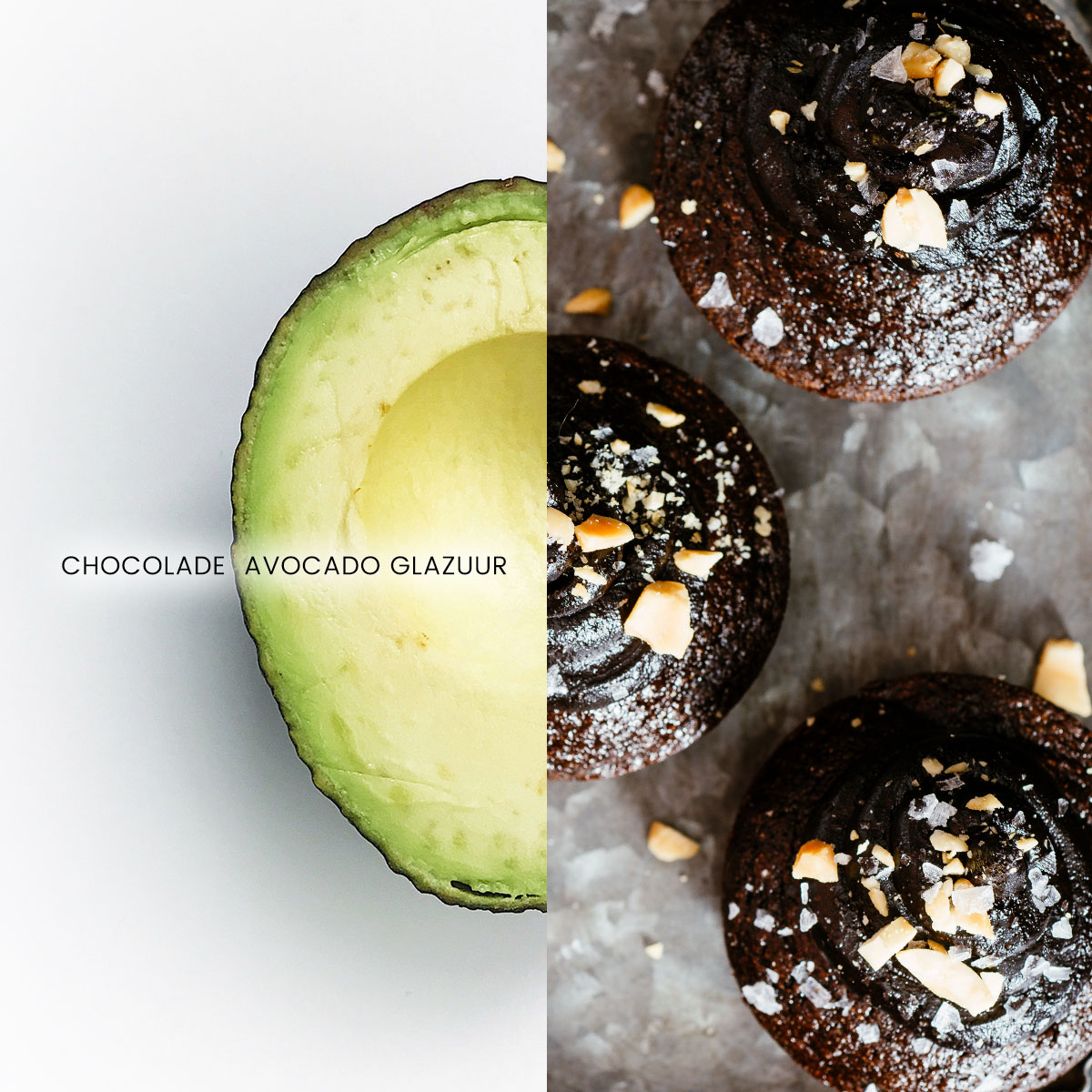 Empty the Fridge - Chocolade avocado glazuur