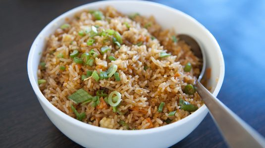 Empty the fridge - Nasi goreng