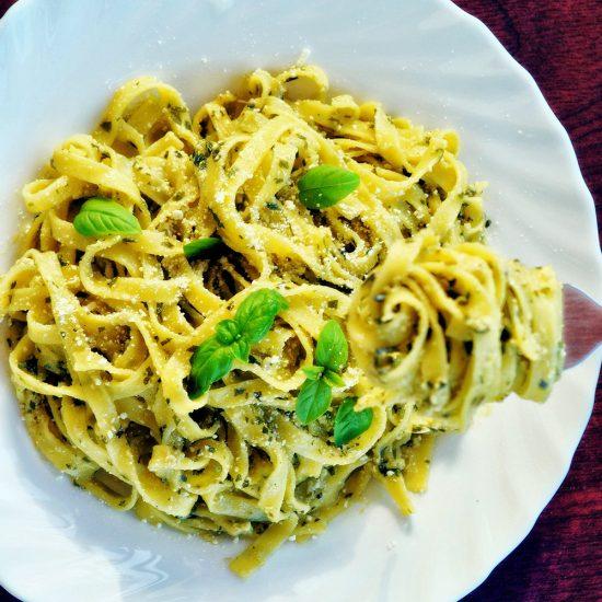 Empty the Fridge - Pasta Genovese