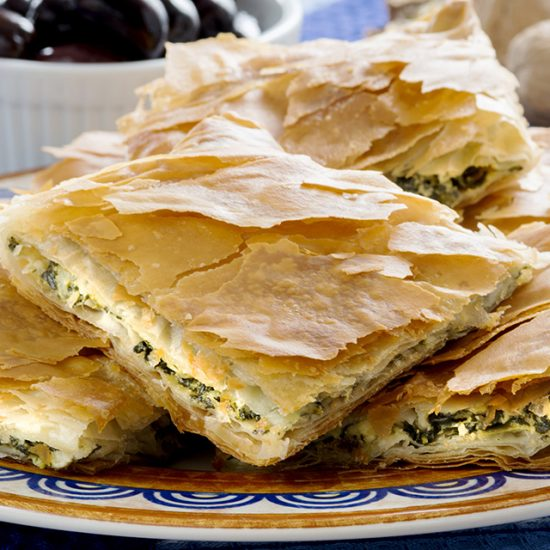 Empty the fridge - Spanakopita