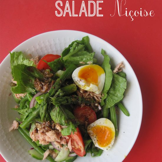 Empty the fridge - Salade nicoise