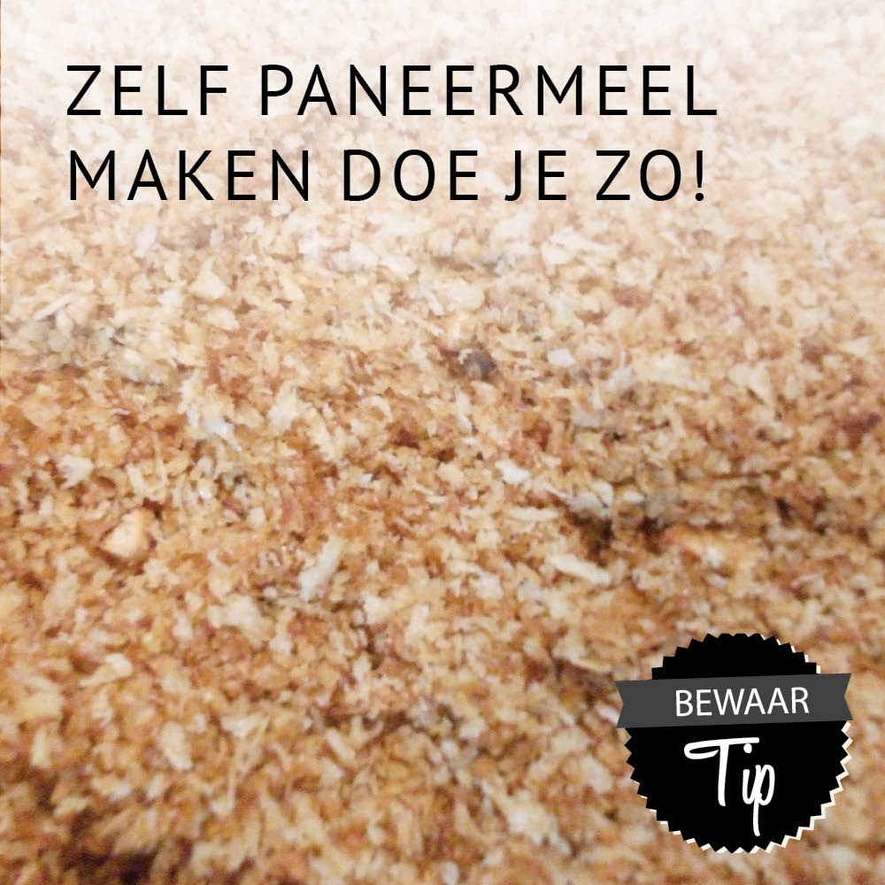 Empty the fridge - Zelf Paneermeel maken