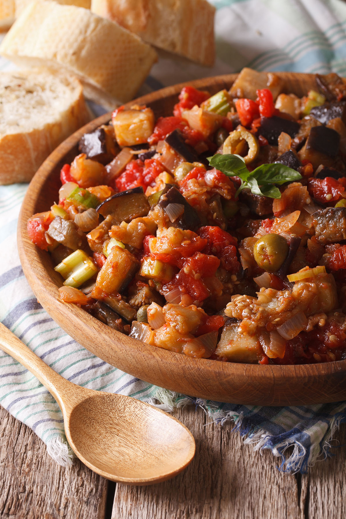 Empty the Fridge - Siciliaanse caponata