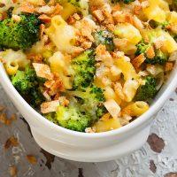 Empty the Fridge - Vegetarische mac and cheese