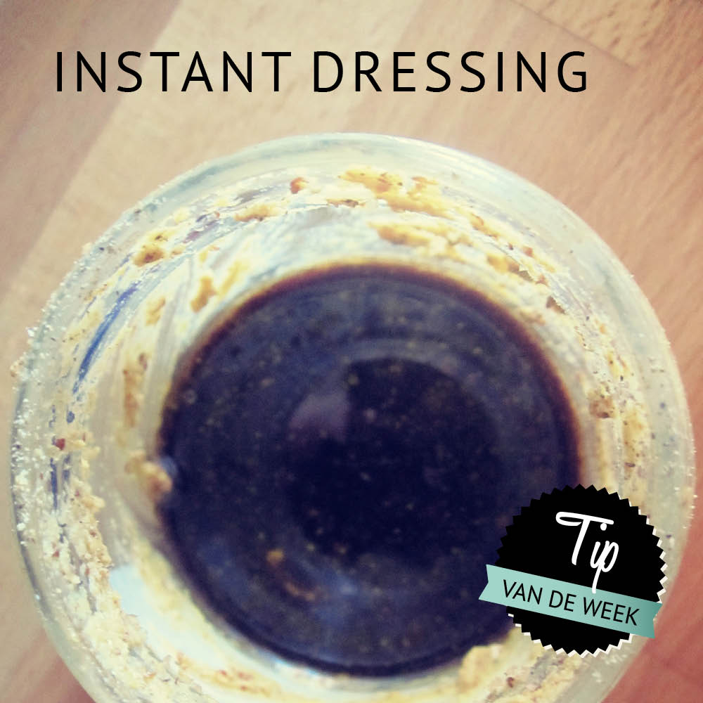 Empty the Fridge - Instant dressing