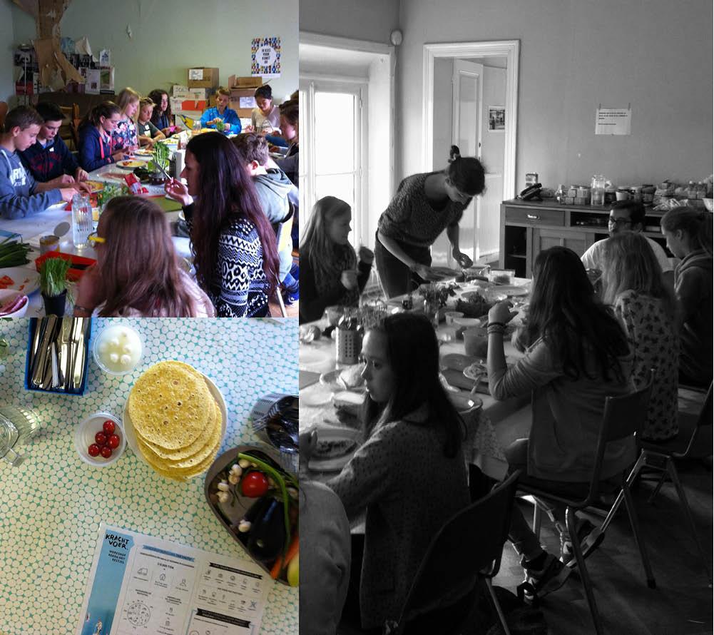 Empty the Fridge - Krachvoer workshop - Koken met restjes