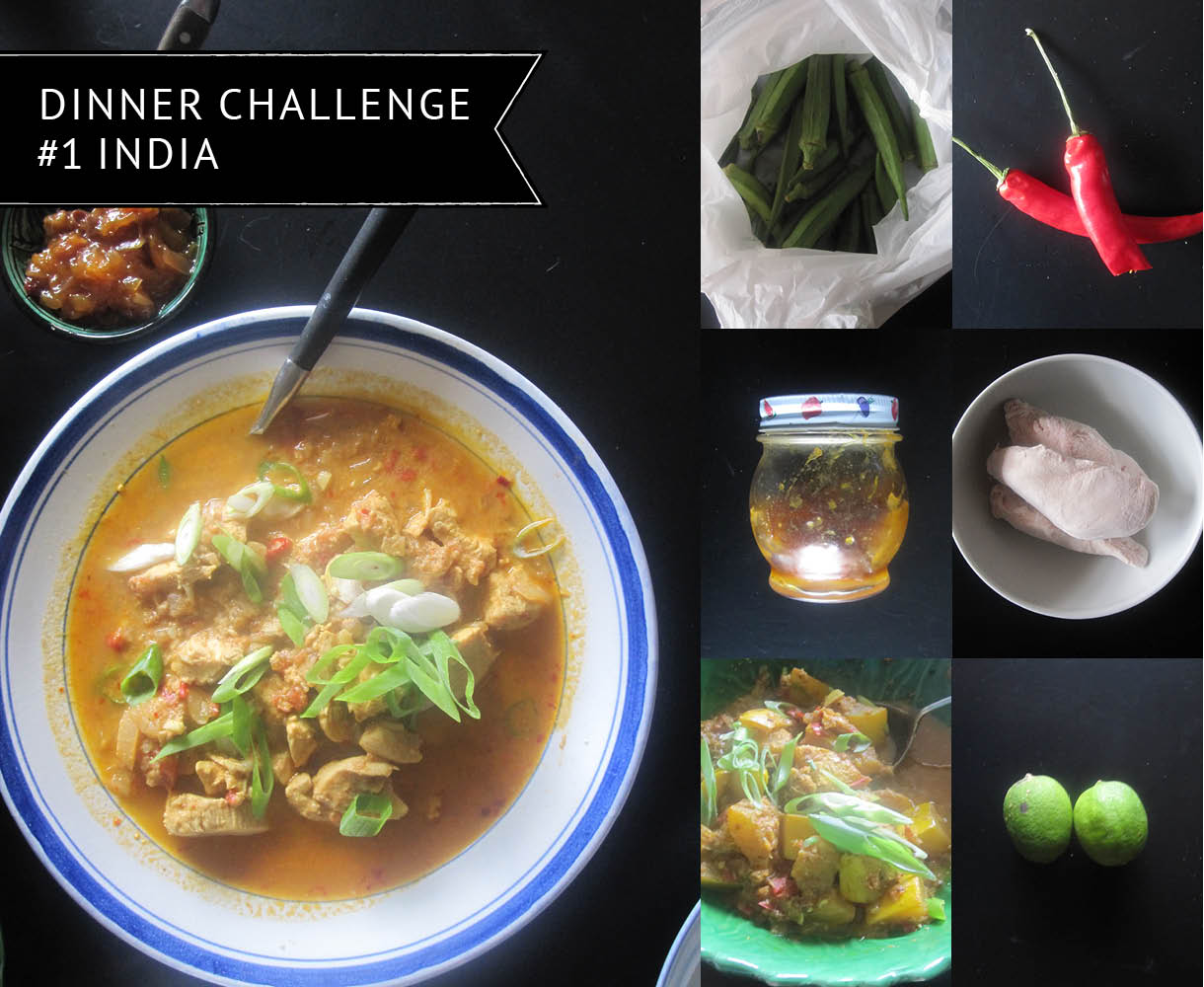 Empty the Fridge - Dinner challenge 1 - India