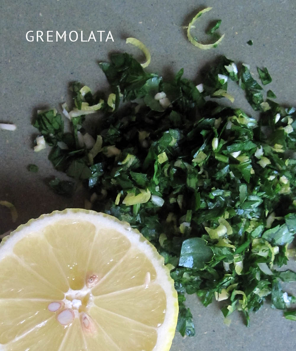 Empty the Fridge - Gremolata