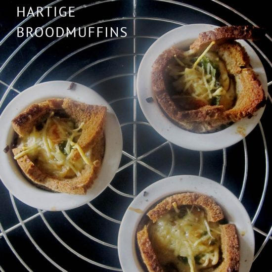 Empty the Fridge - Hartige broodmuffins