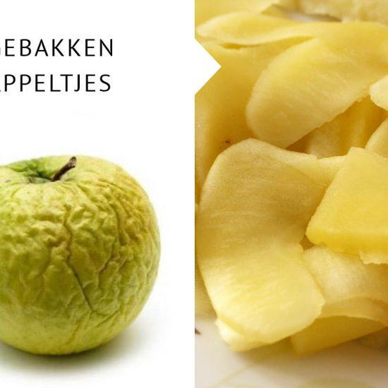 Empty the fridge - Gebakken appeltjes