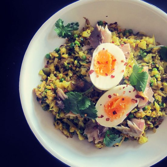 Empty the Fridge - Paleo kedgeree