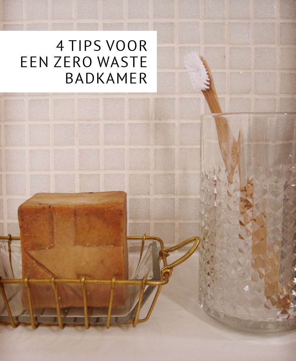 Empty the Fridge - Zero waste badkamer