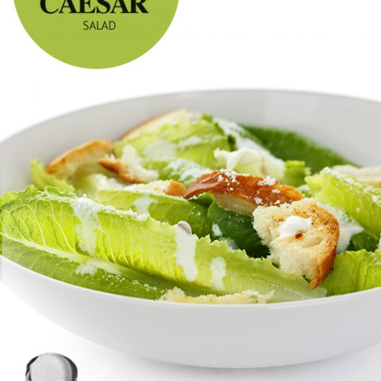 Empty the Fridge - Caesar salad