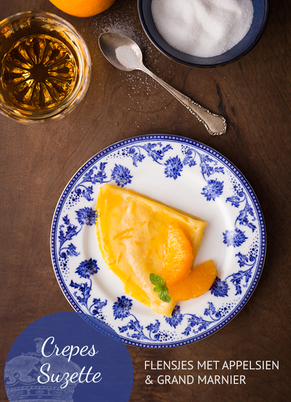 Empty the Fridge - Crepes suzette