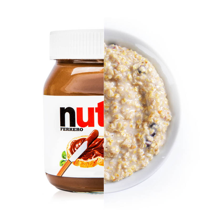 Empty the Fridge - Nutella hack breakfast 2