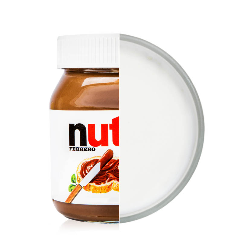 Empty the Fridge - Nutella hack chocomelk
