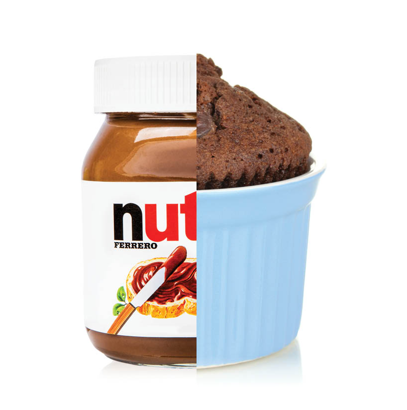 Empty the Fridge - Nutella hack mugcake