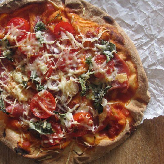 Empty the Fridge - Flatbread pizza