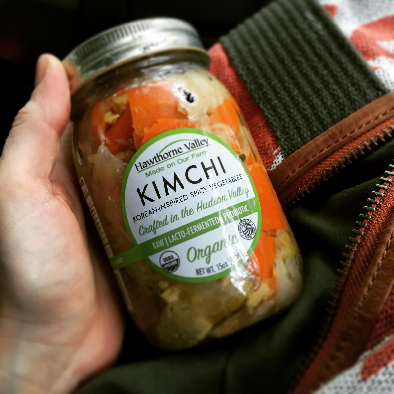 Empty the Fridge - Kimchi