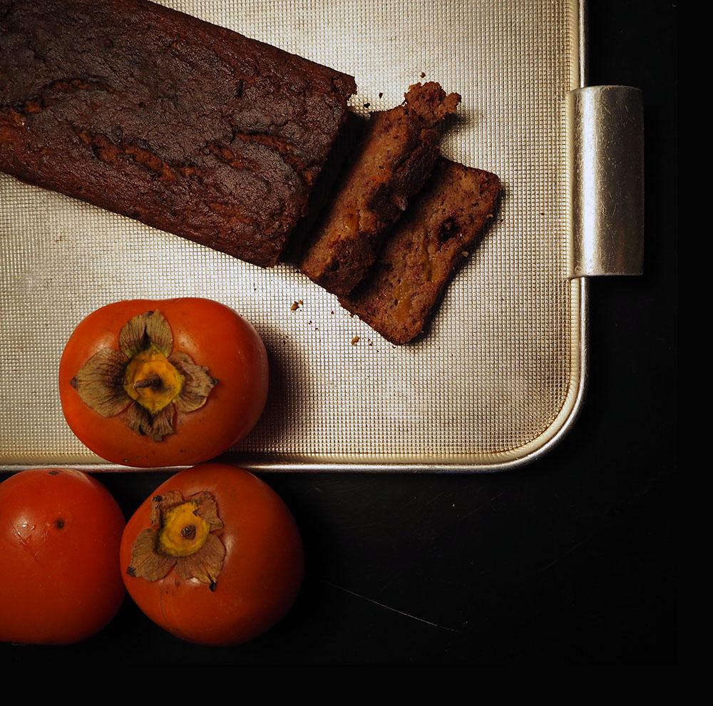 Empty the Fridge - Persimmoncake