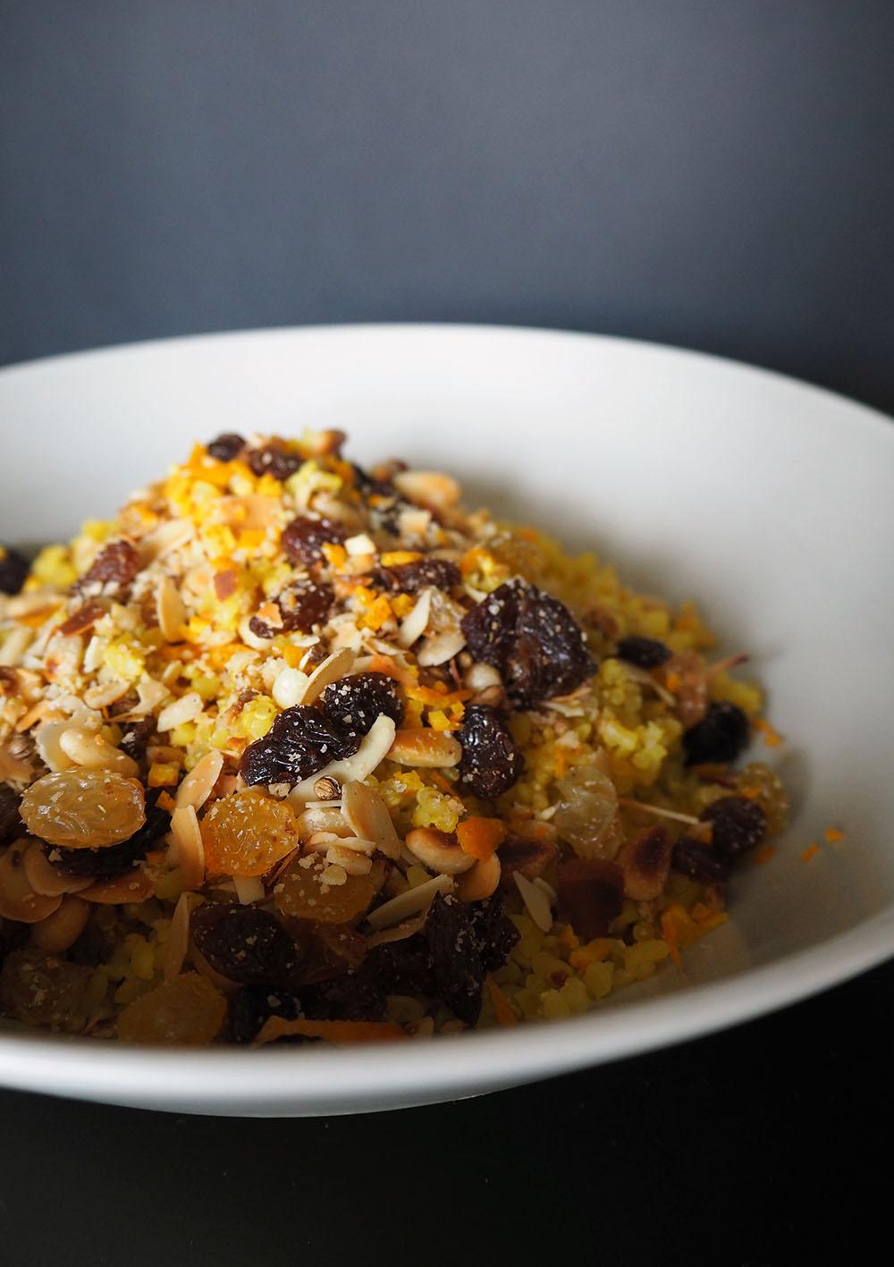 Empty the Fridge - Kalkoenrollade met quinoa notenvulling