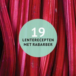 Empty the Fridge - 19 lente-recepten met rabarber