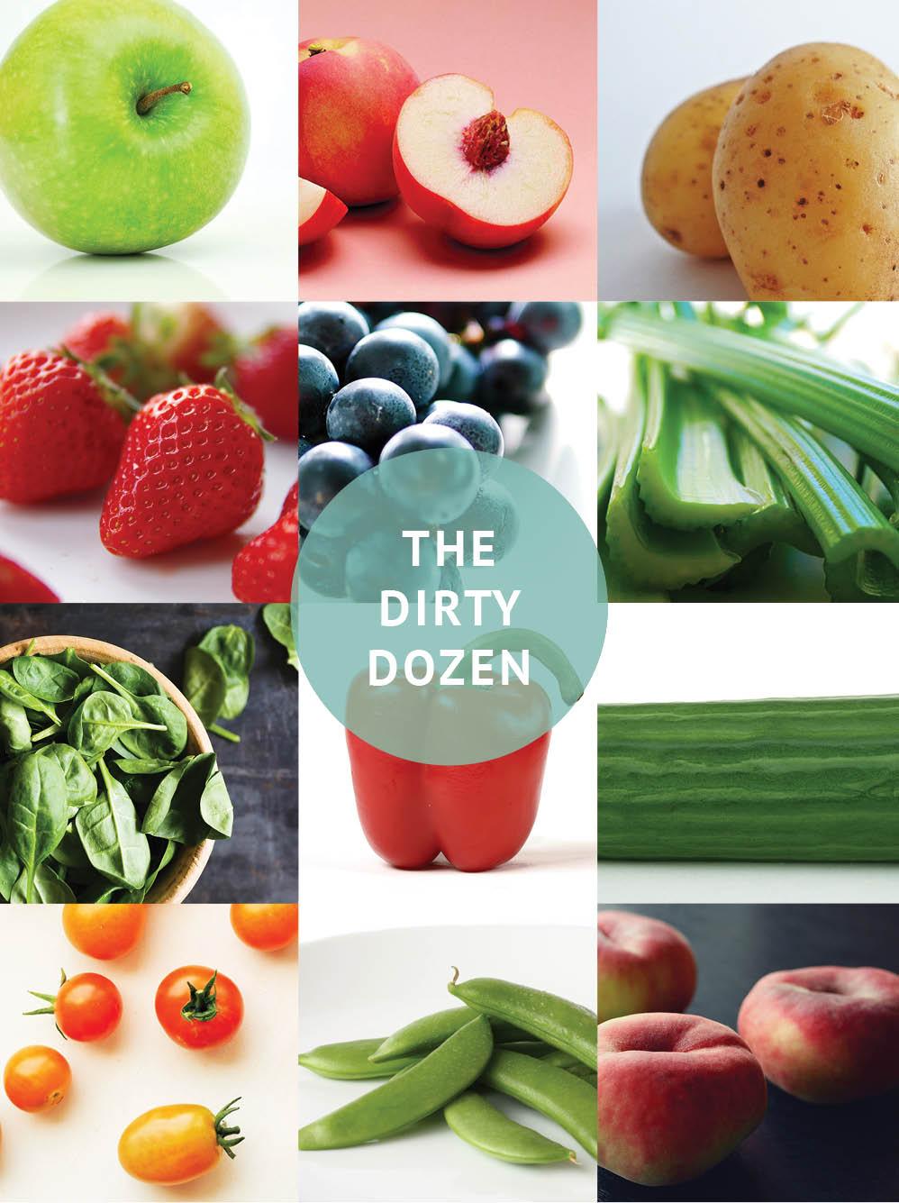 Empty the Fridge - The dirty dozen