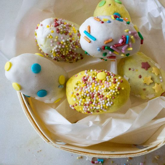 Empty the Fridge - Paasei cakepops