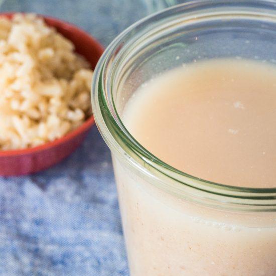 Empty the Fridge - Zelf rijstmelk maken