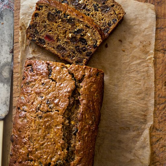 Empty the Fridge - Bara Brith - Welsh tea cake