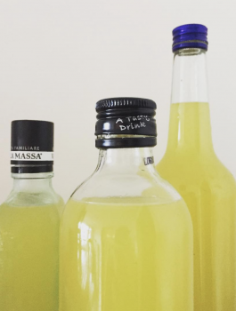 Empty the Fridge - Limoncello
