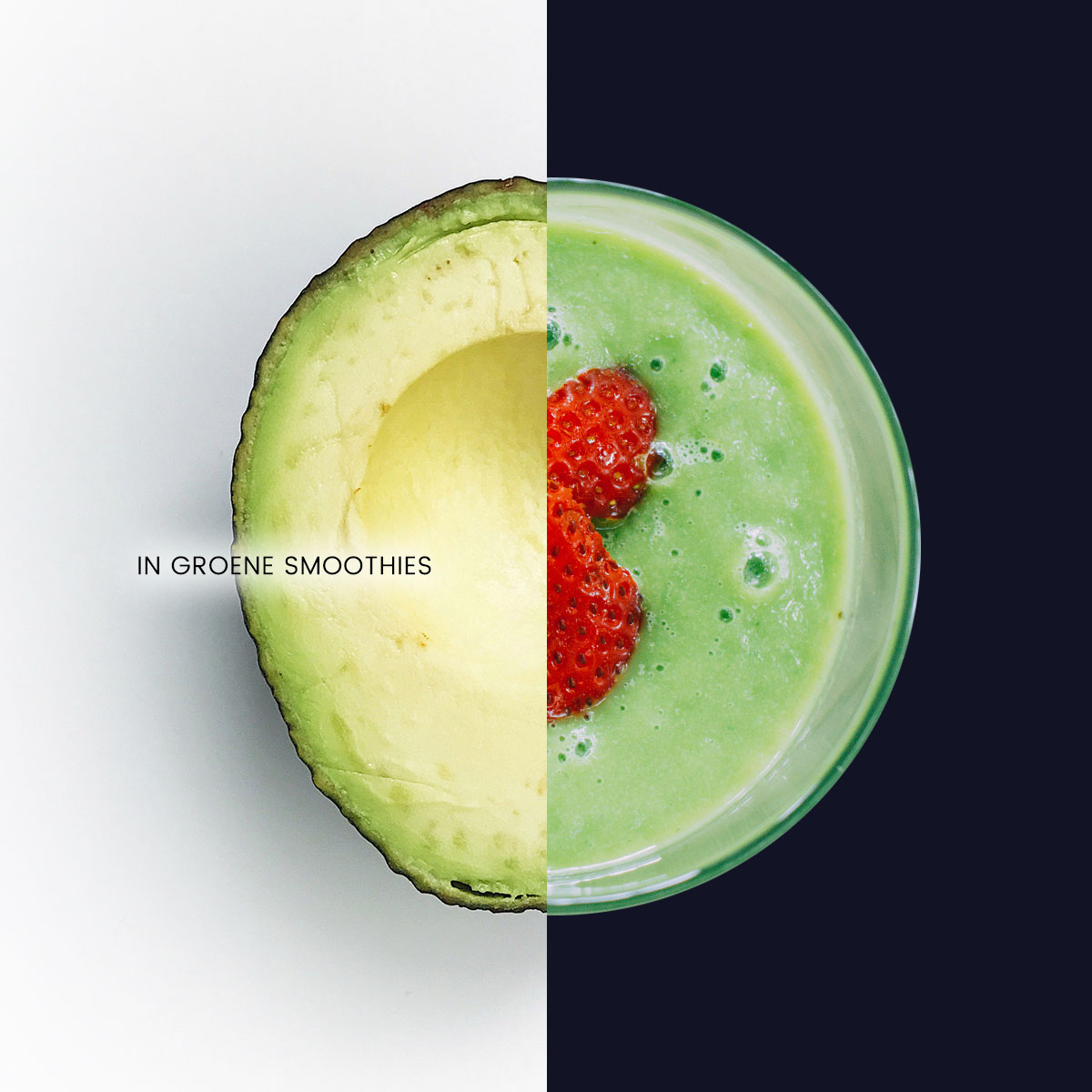 Empty the Fridge - Avocado in groene smoothies