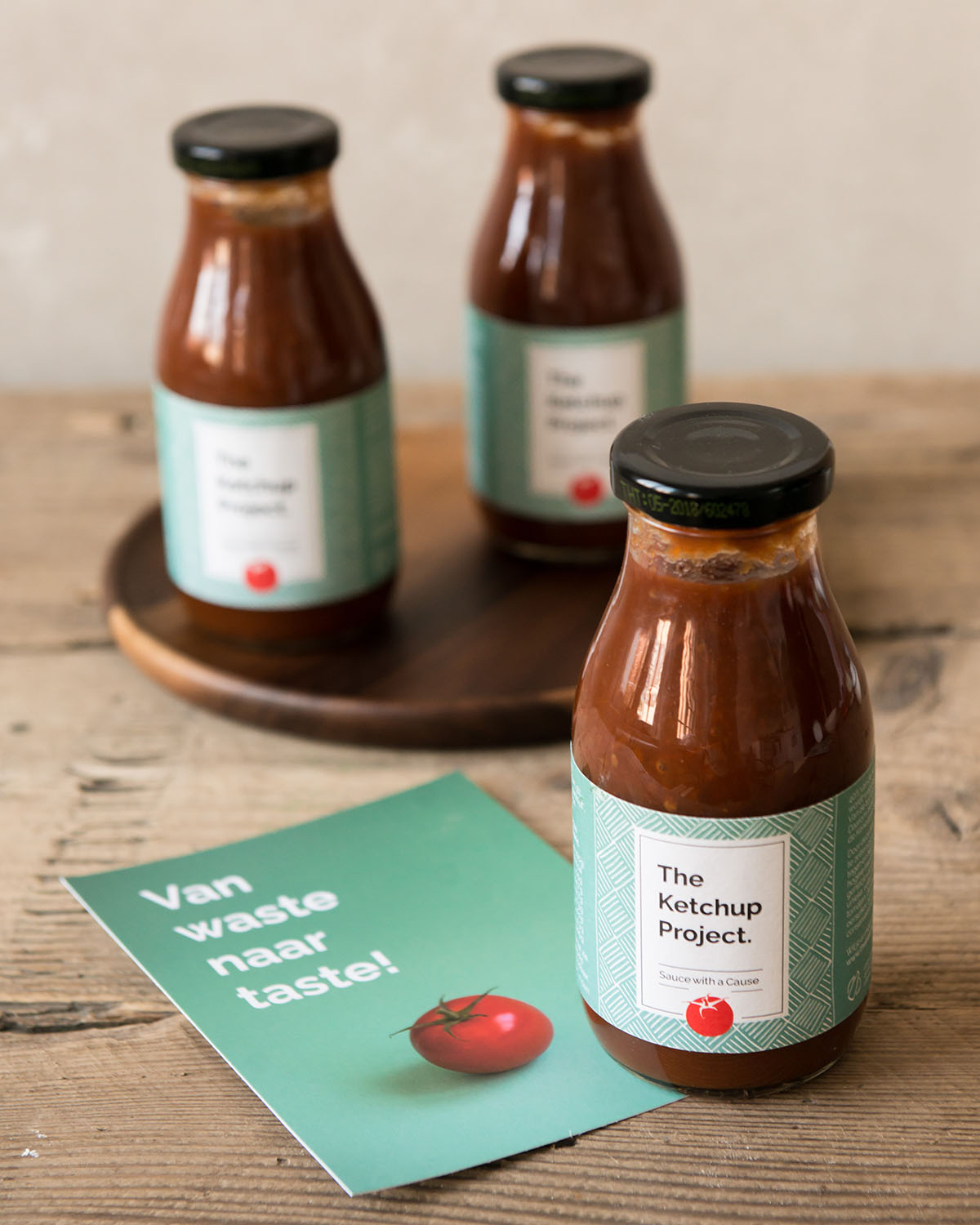 Empty the Fridge - The ketchup project