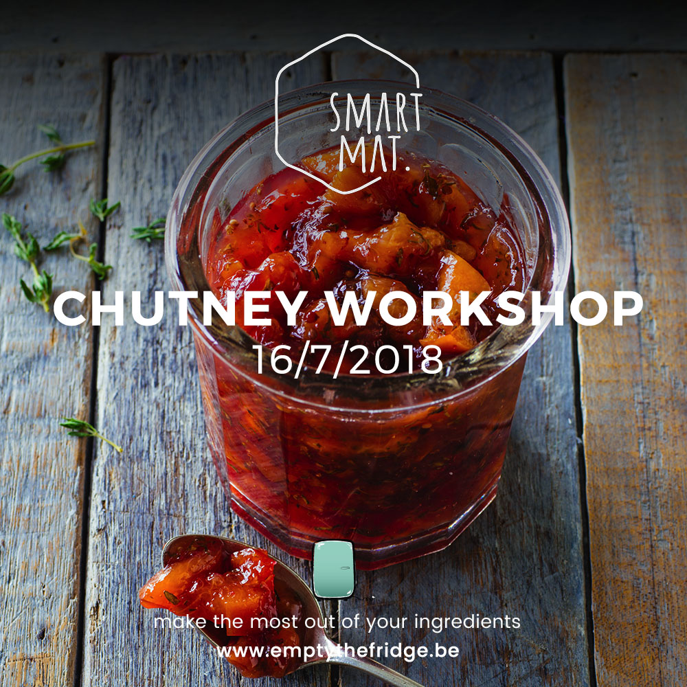 Empty the Fridge - Chutney workshop smartmat